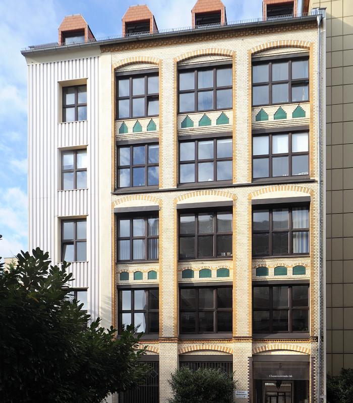 Chausseestraße 86, Hofgebäude